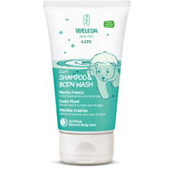 Kids shampoo en bodywash Weleda