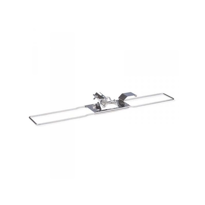 Ha-Ra metalen vloerhouder, vloerexpres 42 cm met steel