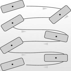 Vloerwisser metaal Ha-Ra zonder steel