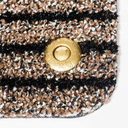 Ha-Ra® Paillasson Soft Premium grand brun 90 x 200 cm